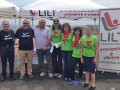 Giornata Mondiale senza Tabacco 2016: i volontari insieme al Presidente della Lilt di Catania, Carlo Romano