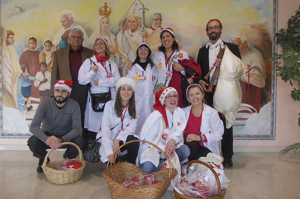 "Natale all'Ospedale ""Garibaldi"""