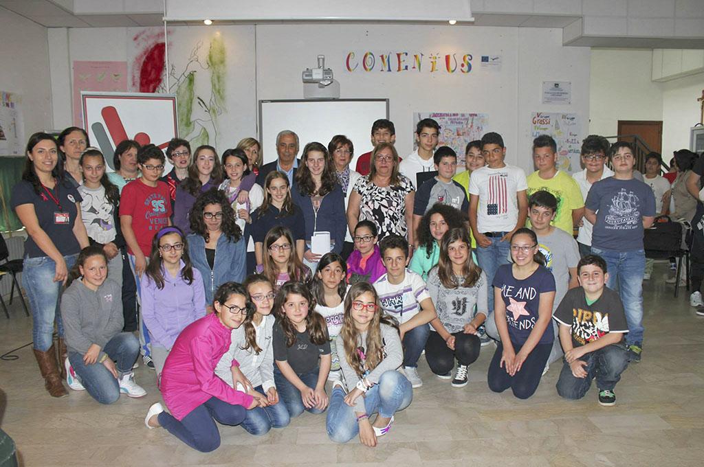 """La LILT incontra gli studenti dell'Istituto Comprensivo """"Cardinale Dusmet"""" di Nicolosi"""