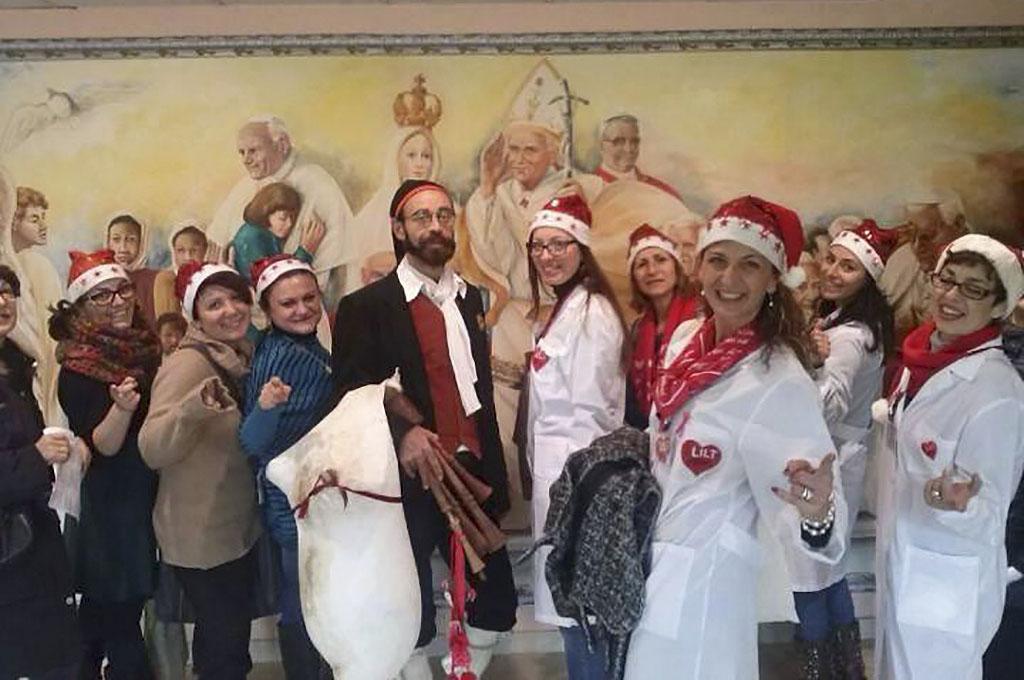 """I volontari LILT all'ospedale """"Garibaldi"""" di Nesima"""