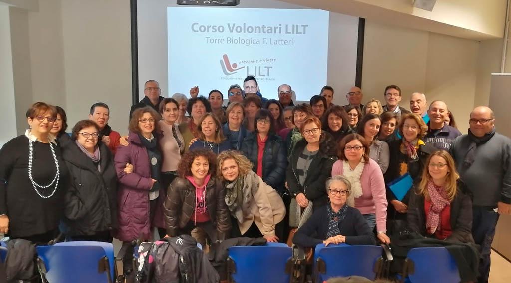 Corso di formazione per volontari LILT 2019