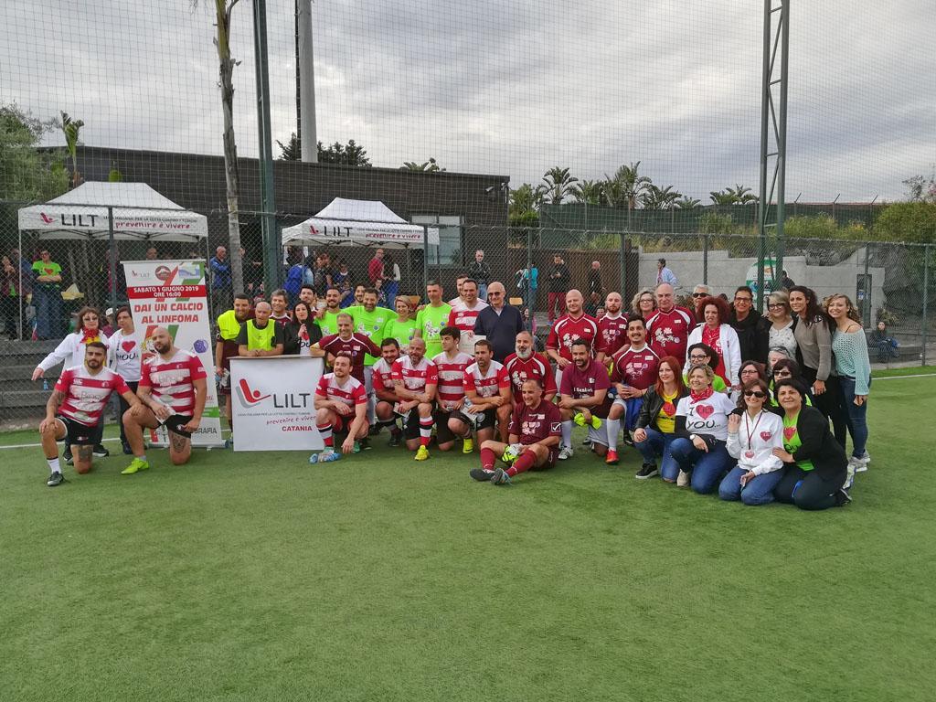 Dai un calcio al linfoma 2019